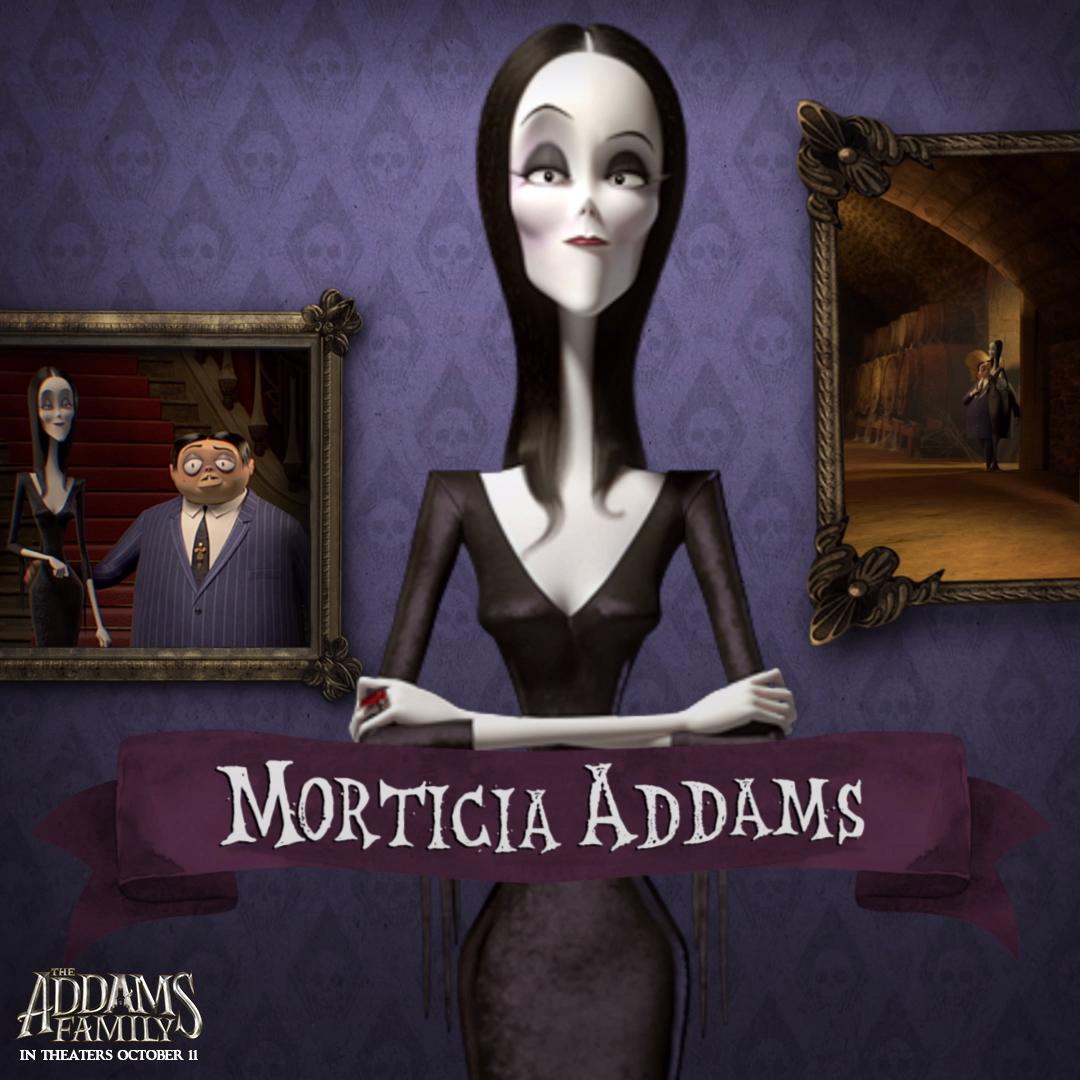 Meet Morticia Addams Video Addams Family Movie Addams Family Cartoon Morticia Addams