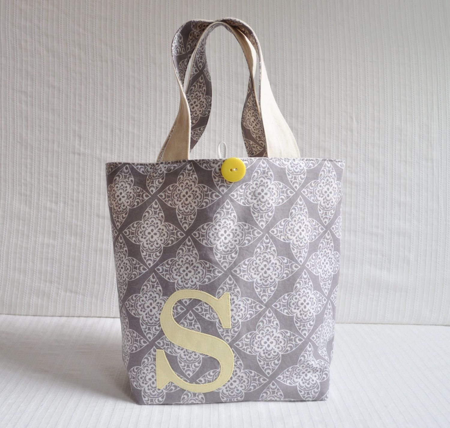 Monogrammed Project Bag Design Your Own Medium By