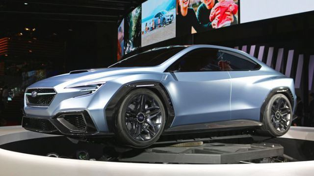 2019 subaru wrx new gen will be based on new viziv performance concept