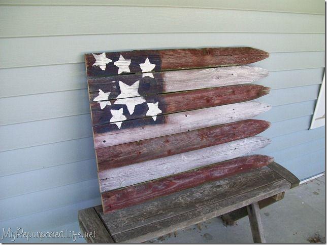 602a8ce86b2c DIY - stockade fence flag
