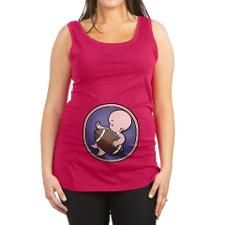 football-wombie-T.png Maternity Tank Top