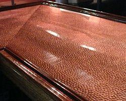 Decorative Copper Bar Top