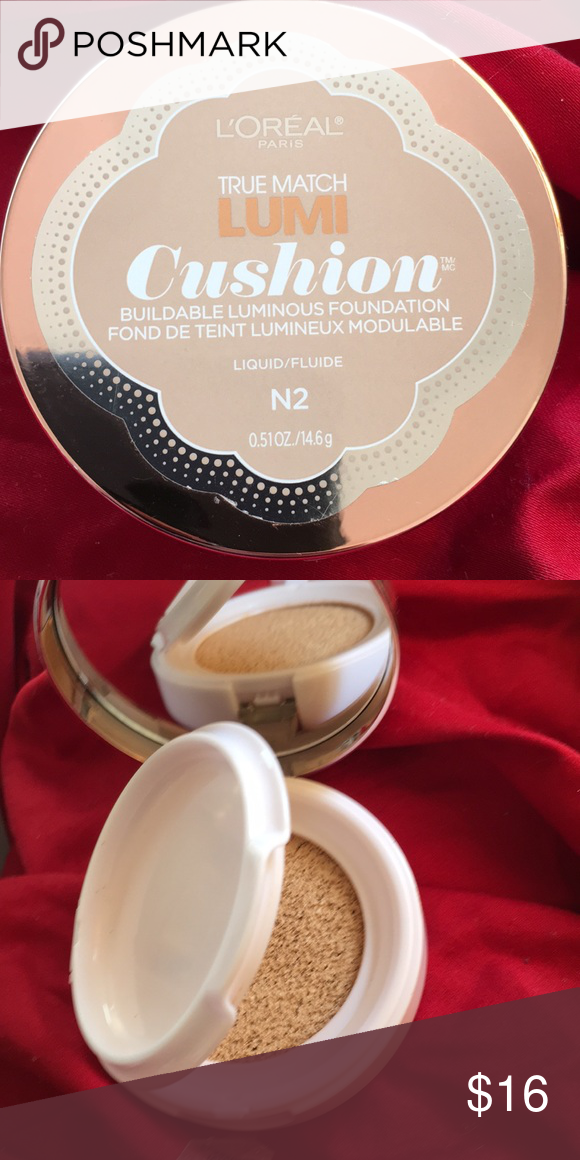 L'ORÉAL true match lumi cushion foundation Used once color