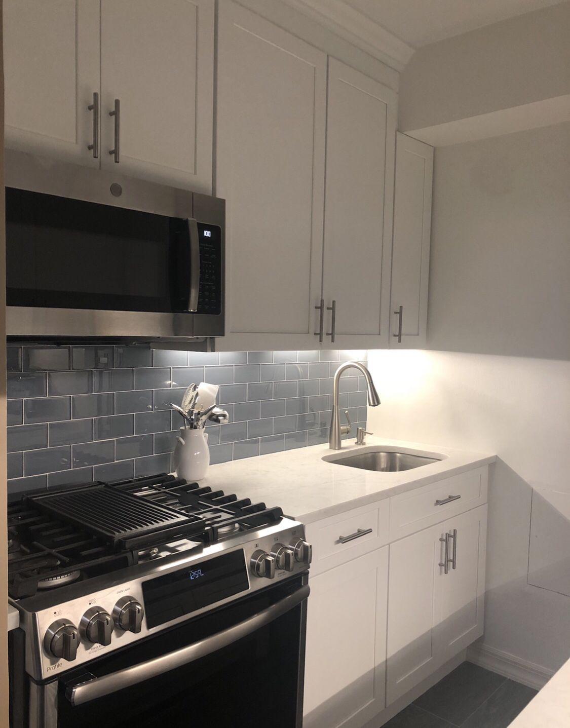 Upper East Side Manhattan Kitchen Remodel Using Fabuwood Galaxy
