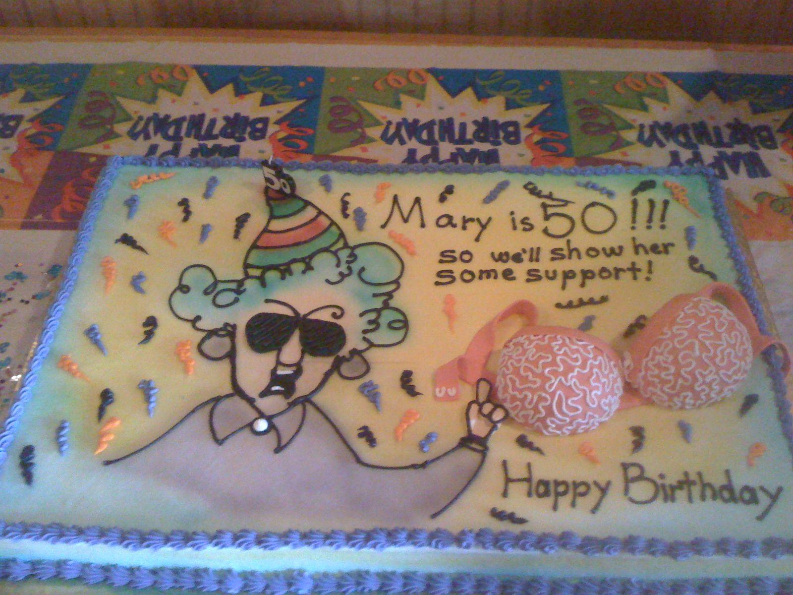 50th Birthday cake ideas Events Pinterest