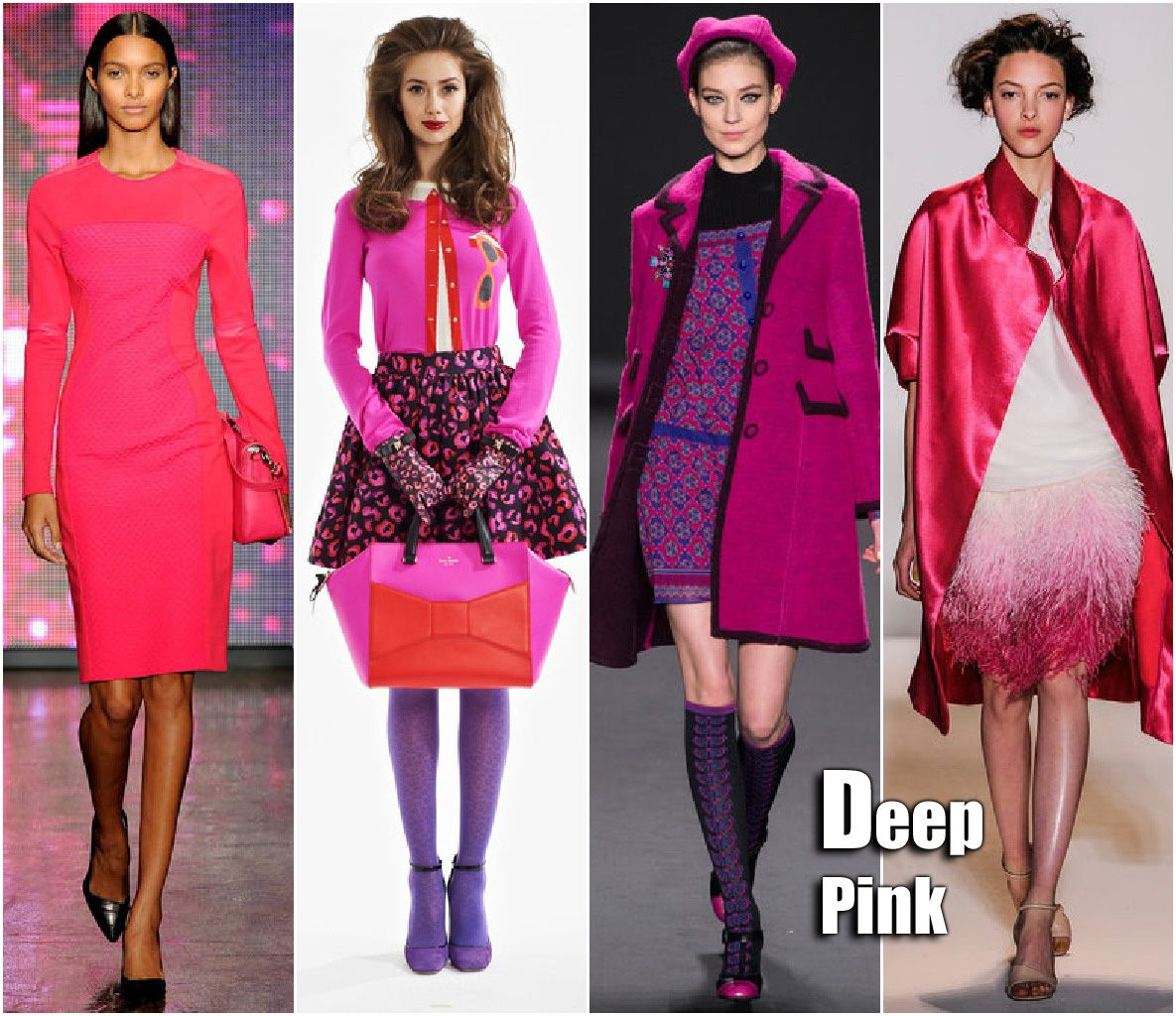 Fall 2013 Fashion Week Trends: Deep Pink