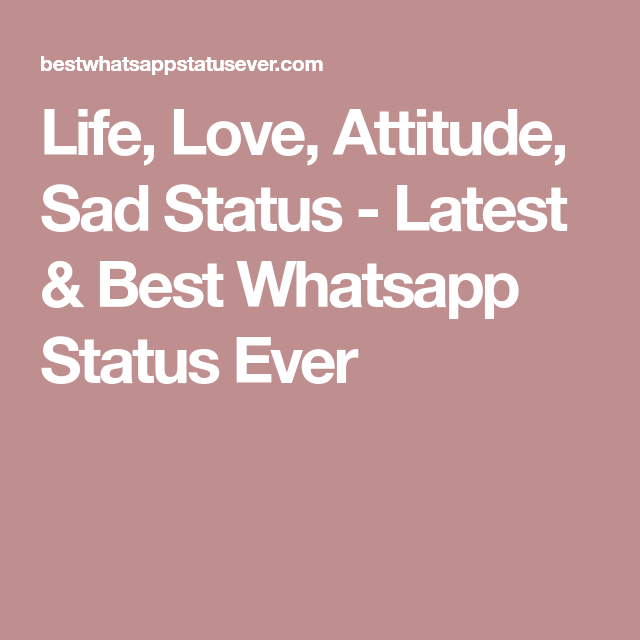 Best Whatsapp Status Ever Website For You Which Provides
