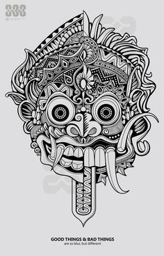 Indonesian Puppet Drawings