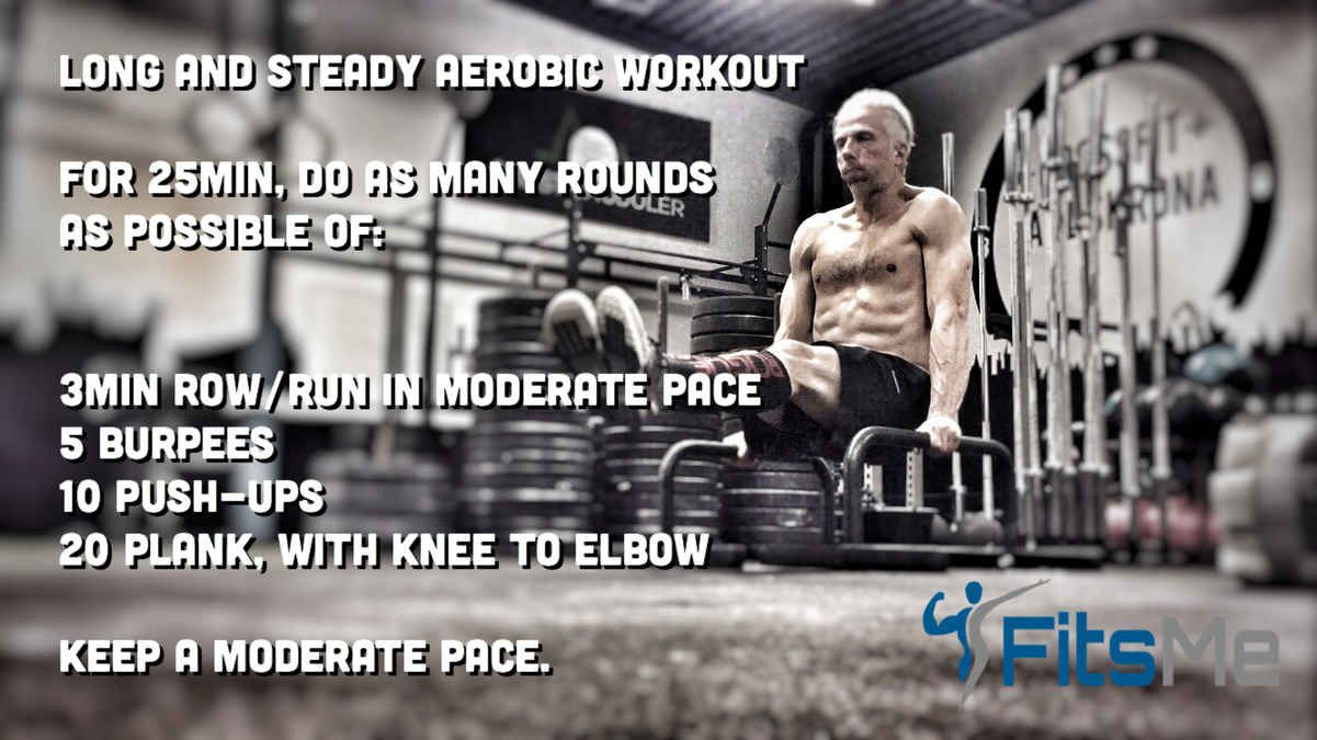 Free aerobic workouts for stamina and cardio fitsme