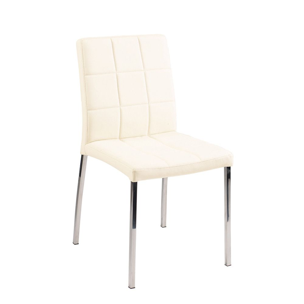 55 Ivory Leather Dining Room Chairs  Modern Rustic Furniture Impressive Ivory Leather Dining Room Chairs 2018