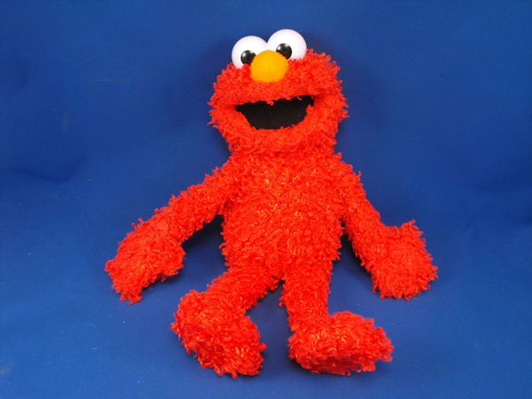 New product '2008 Fisher Price P3558 LG Shaggy Red ELMO Full Body Puppet' added to Dirty Butter Plush Animal Shoppe! - $10.00 - 2008 Fisher Price Mattel No. P3558 Sesame Street Plush 18 inch Shaggy Chenille Red ELMO Full Body Puppet - Hard Plastic …