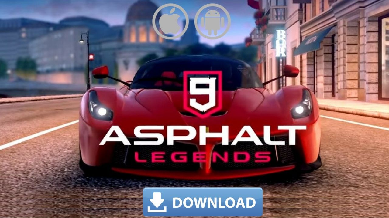 Asphalt 9 Legends Download for iPhone and Android – Asphalt 9: Legends MOD APK iOS, the legendary race is competing… | Racing video games, Tool hacks, Android games