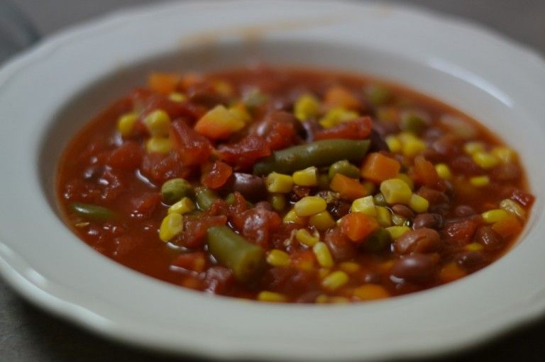 Easy Seven Can Soup
