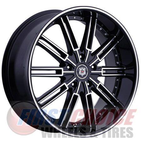 Sevizia 428 Black Machined Chrome 20 22 24 26 Pricing 155 49 432 49 Wheel Wheel Rims Black Wheels