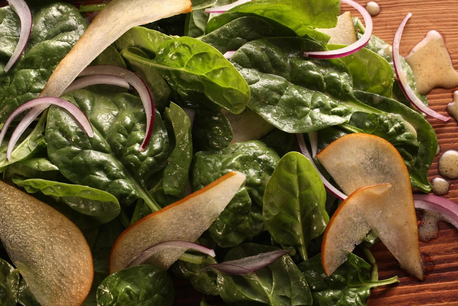 Pear and Spinach Salad Recipe