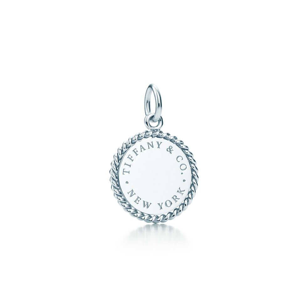 Tiffany Twist clover charm in sterling silver, small Tiffany & Co.