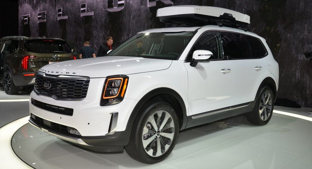 2020 Kia Telluride Suv Is The Largest Kia Ever And Powered By A V6 Kia Suv Kia Motors America