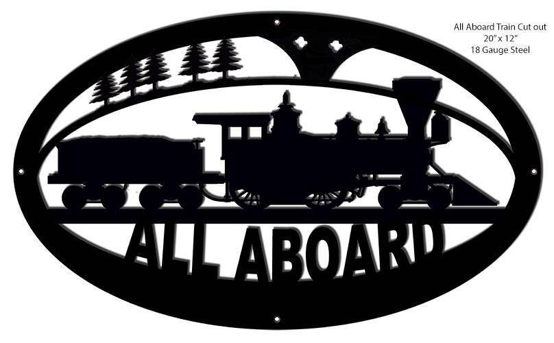 Pin On Trains Railroad Decor