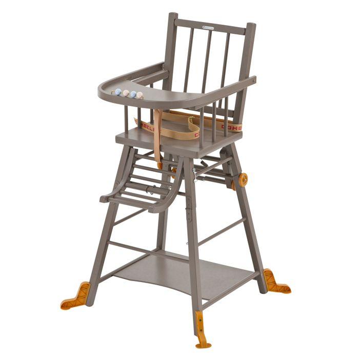 Combelle High Chair Muebles Restaurados Trona Madera