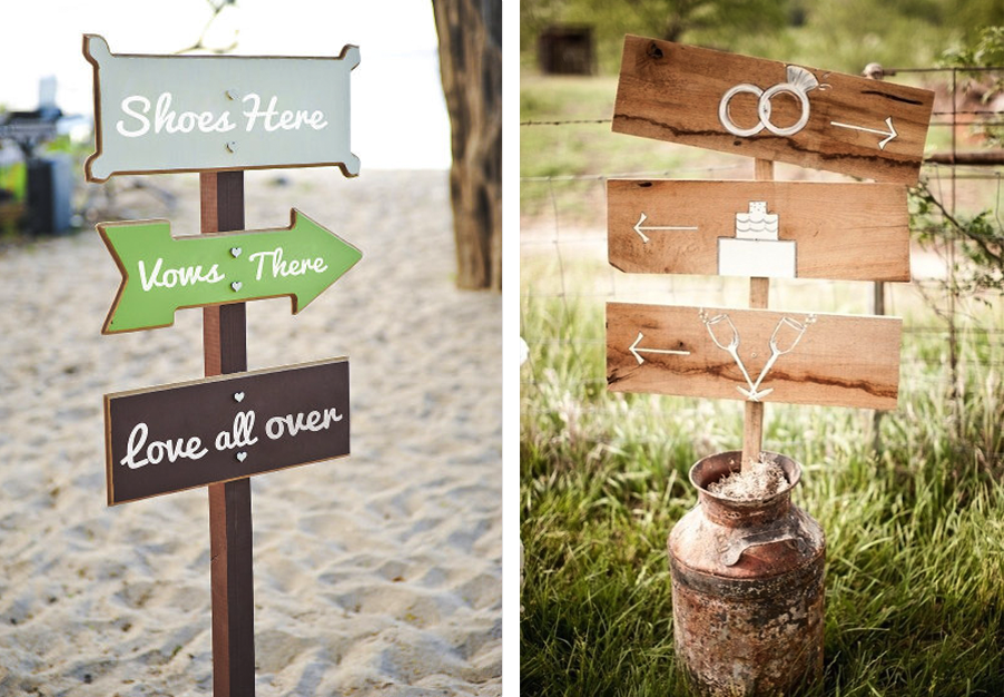 wedding directional signs google search