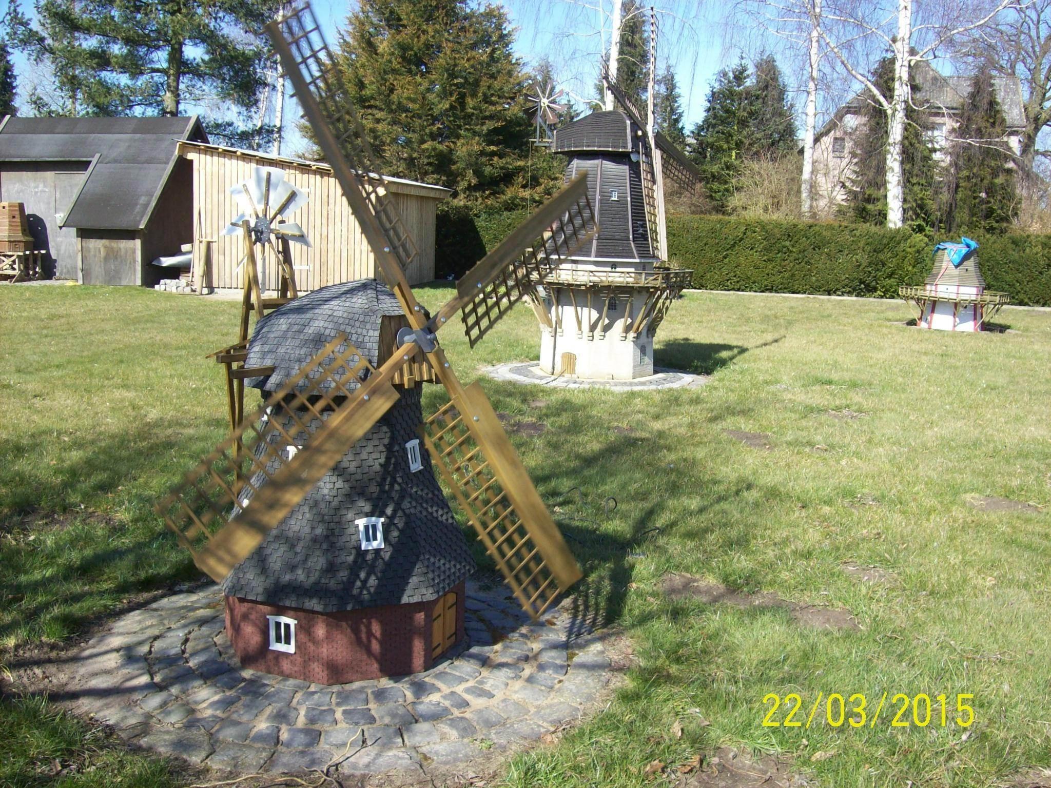 Bau einer Holländer Windmühle Bauanleitung zum selber
