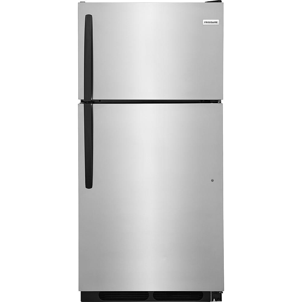 Keep Your Food Cold And Fresh With The Frigidaire Ffht1514ts 15 Cu Ft Top Freezer Refriger Top Freezer Refrigerator Stainless Steel Refrigerator Refrigerator