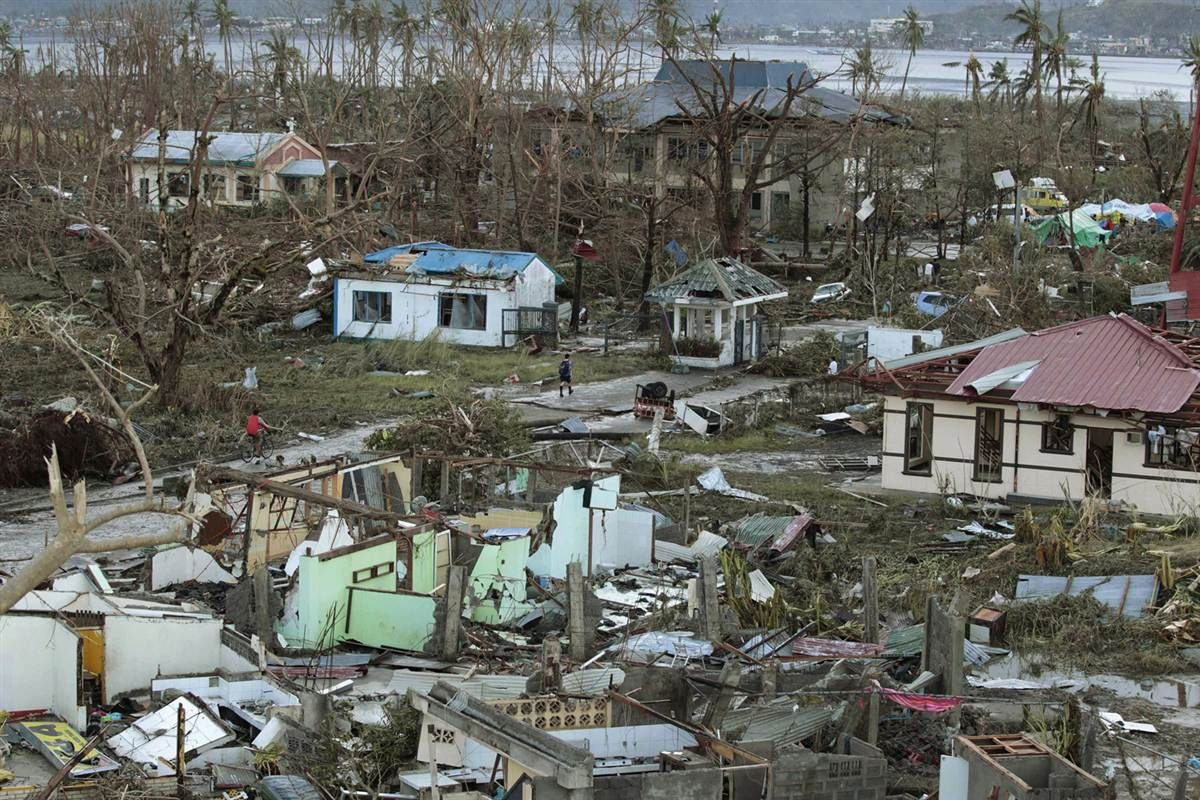 Typhoon Haiyan Batters The Philippines Philippines Cities Path Of Destruction Tacloban City