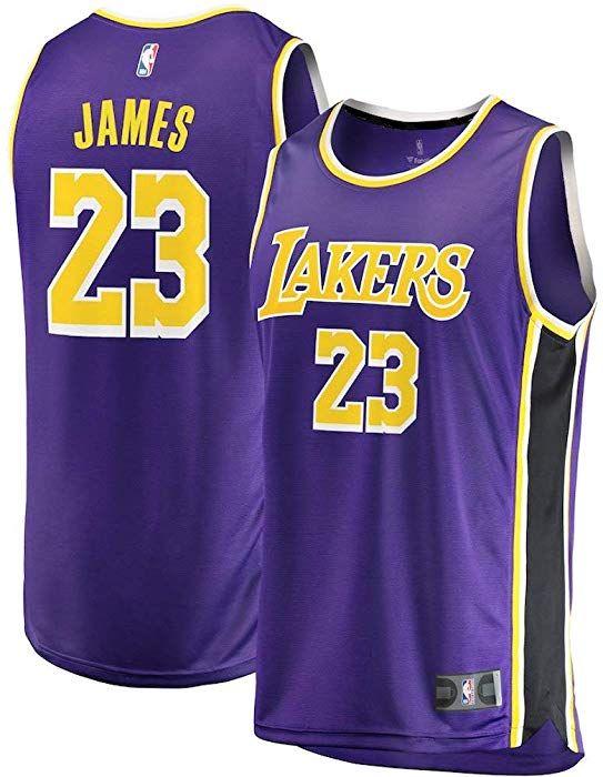 Starjersey Fast Break Lebron Lakers Replica Jersey Purple - Association  Edition (XL) at Amazon Men s Clothing store  6b108672b