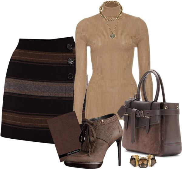 """""""tan"""" by emhodges01 ❤ liked on Polyvore"""