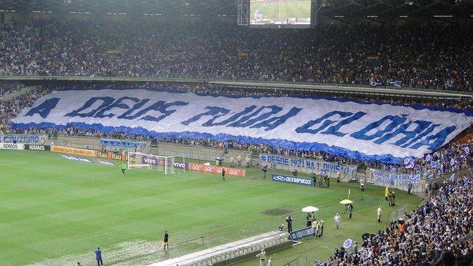 A Deus Toda Gloria Hoje E Sempre Cruzeiro Esporte Clube Cruzeiro Esporte Cruzeiro