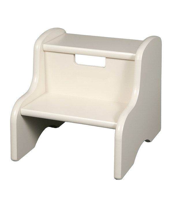 Look at this White Step Stool on #zulily today!