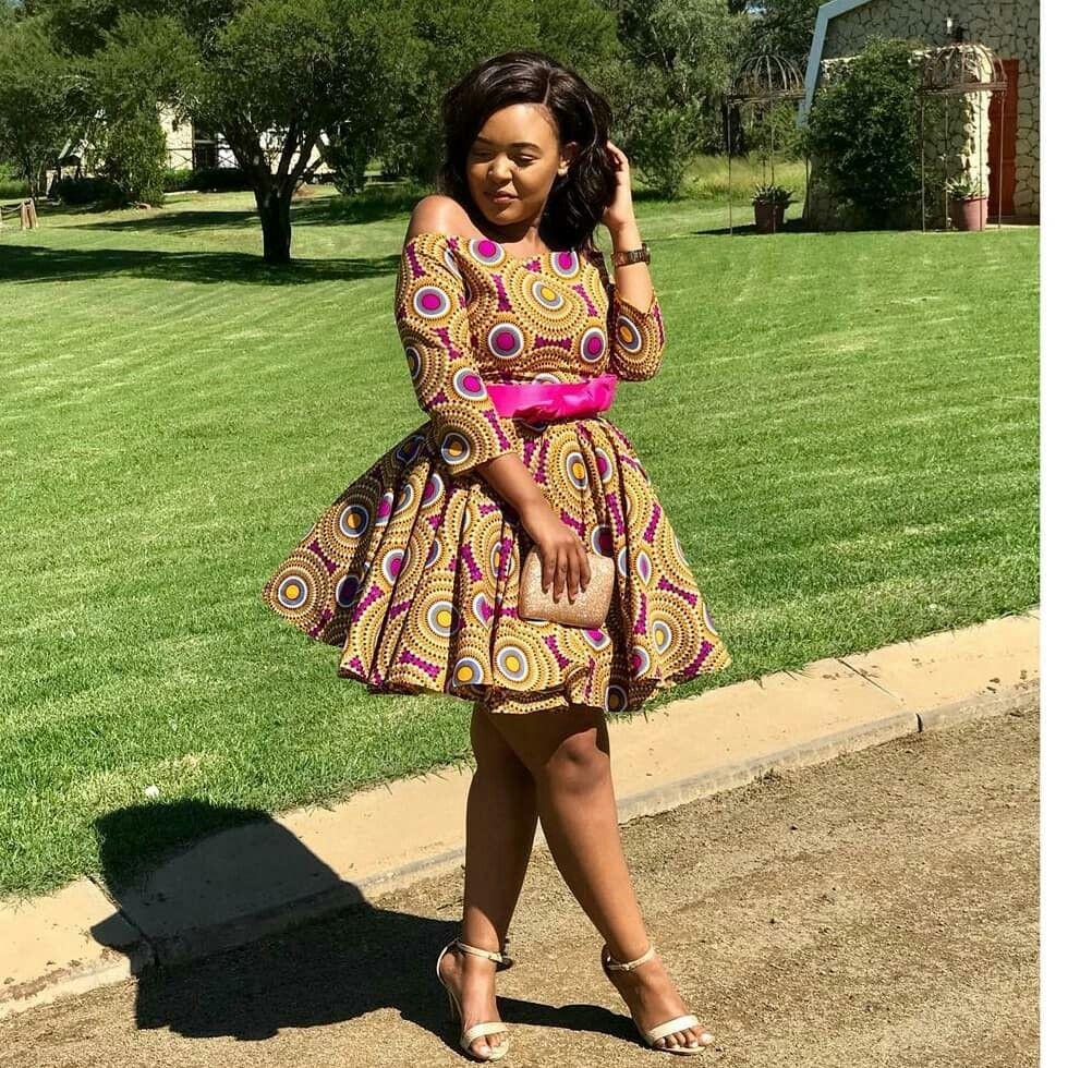 African Print Ankara Summer Off Shoulder Dress Latest African Fashion Dresses African Fashion Designers African Print Fashion Dresses [ 980 x 980 Pixel ]