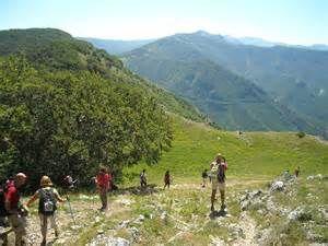 trekking in Aniene Reserve trekking nella Riserva Naturale dell'Aniene