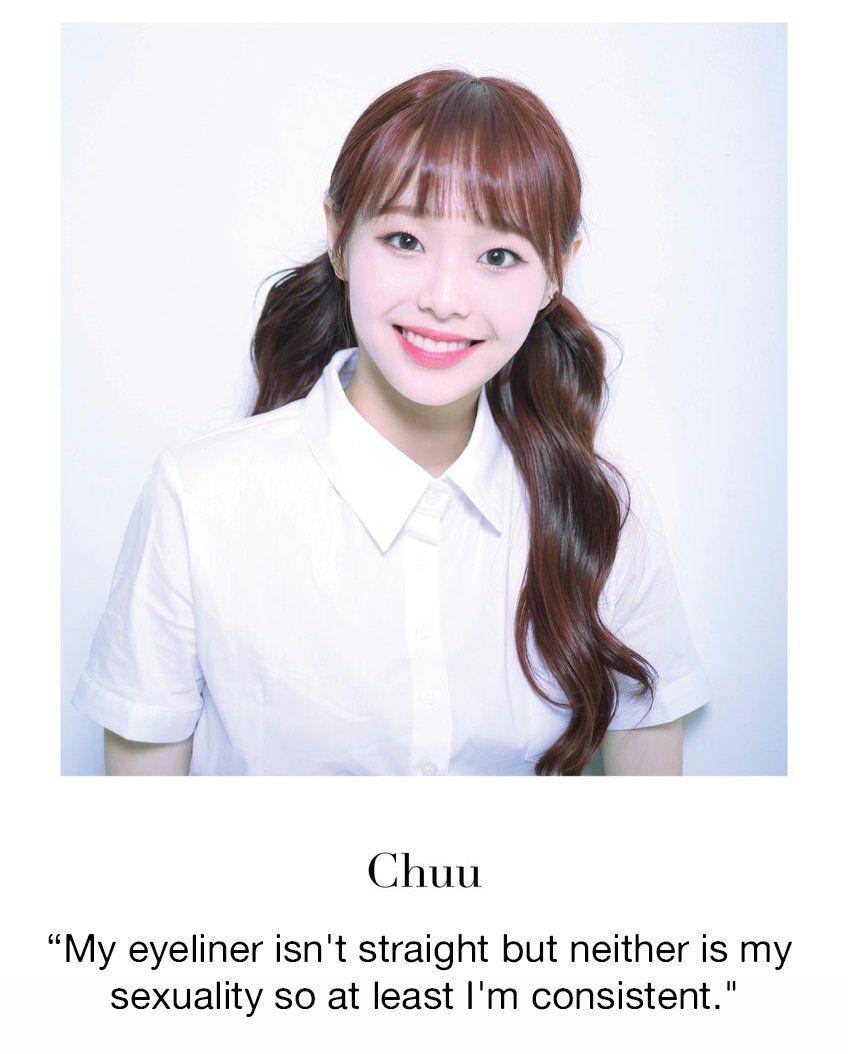 Fede On Twitter Chuu Loona Kpop Girl Groups Kpop