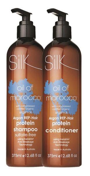 Argan REP korjaavat shampoo ja hoitoaine