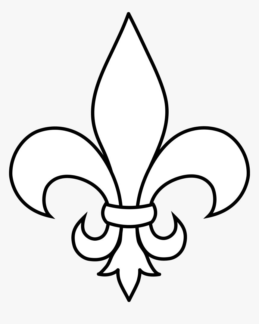 Clip Art Fleur De Lys Outline Fleur De Lis White Hd Png Download Art Mehndi Designs Clip Art