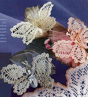 Farfalle Alluncinetto Con Schema Bellissime E Delicate Queste