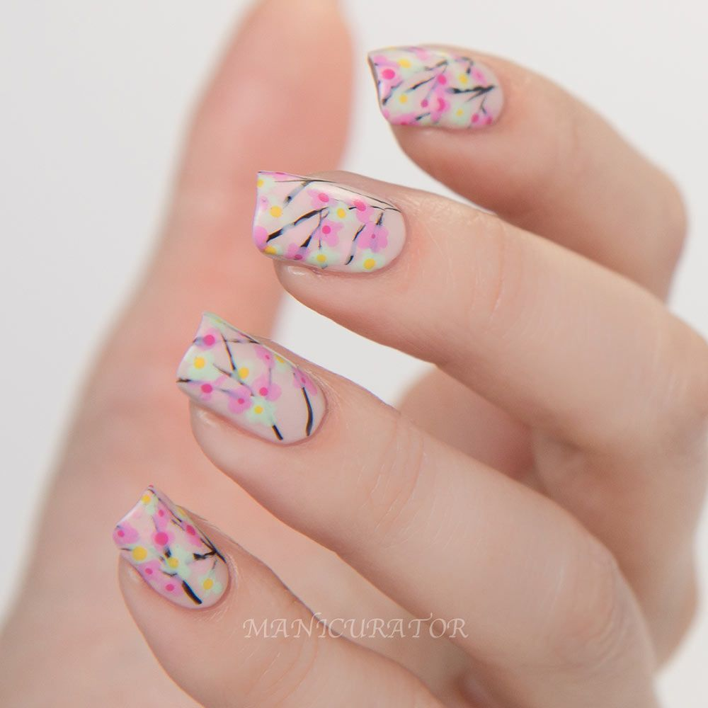 70 fotos de u as decoradas para la primavera spring nail - Decoracion de unas gel ...