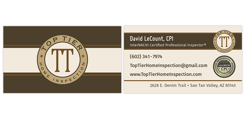 Business card inspector top tier home inspection business business card inspector top tier home inspection colourmoves