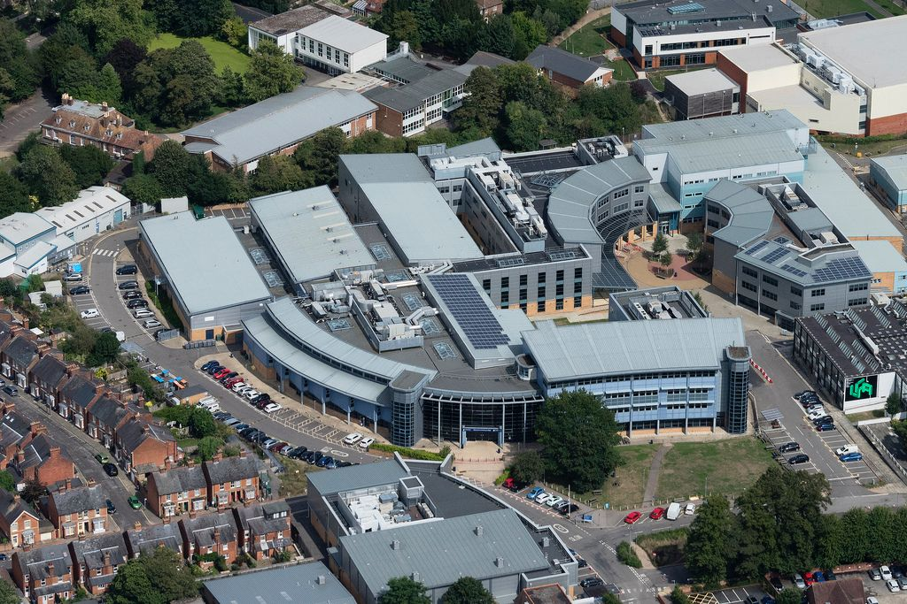 Canterbury College Aerial Image Aerial Images Canterbury