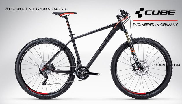 Made In Germany Cube Mtb Reaction Gtc Sl Carbon Xt 20s