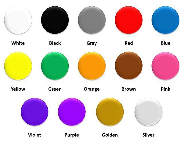 Resultado de imagen para los colores en ingles   Fiestas   Pinterest