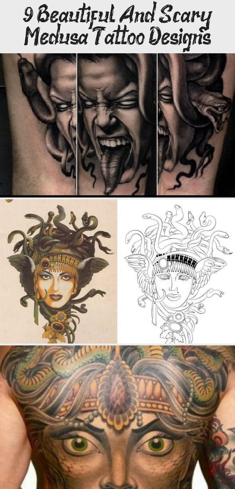 9 Beautiful And Scary Medusa Tattoo Designs Styles At Life Arttattoocreative Lovearttattoo Arttattooflow In 2020 Medusa Tattoo Medusa Tattoo Design Tattoo Designs