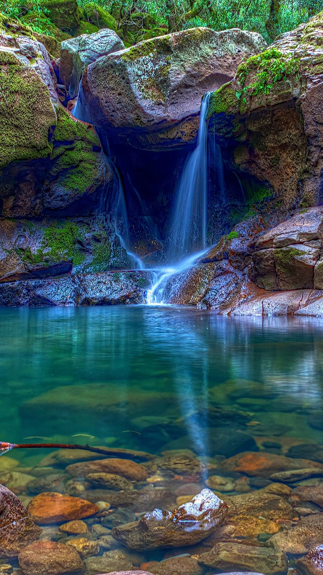Tranquil Waterfall Waterfalls Beautifulnature Naturephotography Nature Photography Lindas Paisagens Fotografia De Paisagem Lindas Cachoeiras