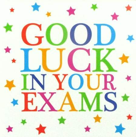 Good luck to everyone starting their exams today #LeavingCert - Exam Best Wishes Cards