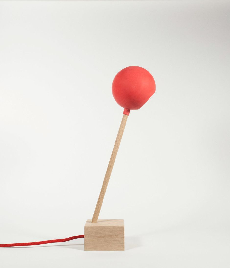 Lollipop Lamp by Studio Ivan Kiss made in Germany on CROWDYHOUSE  #lamp #lighting