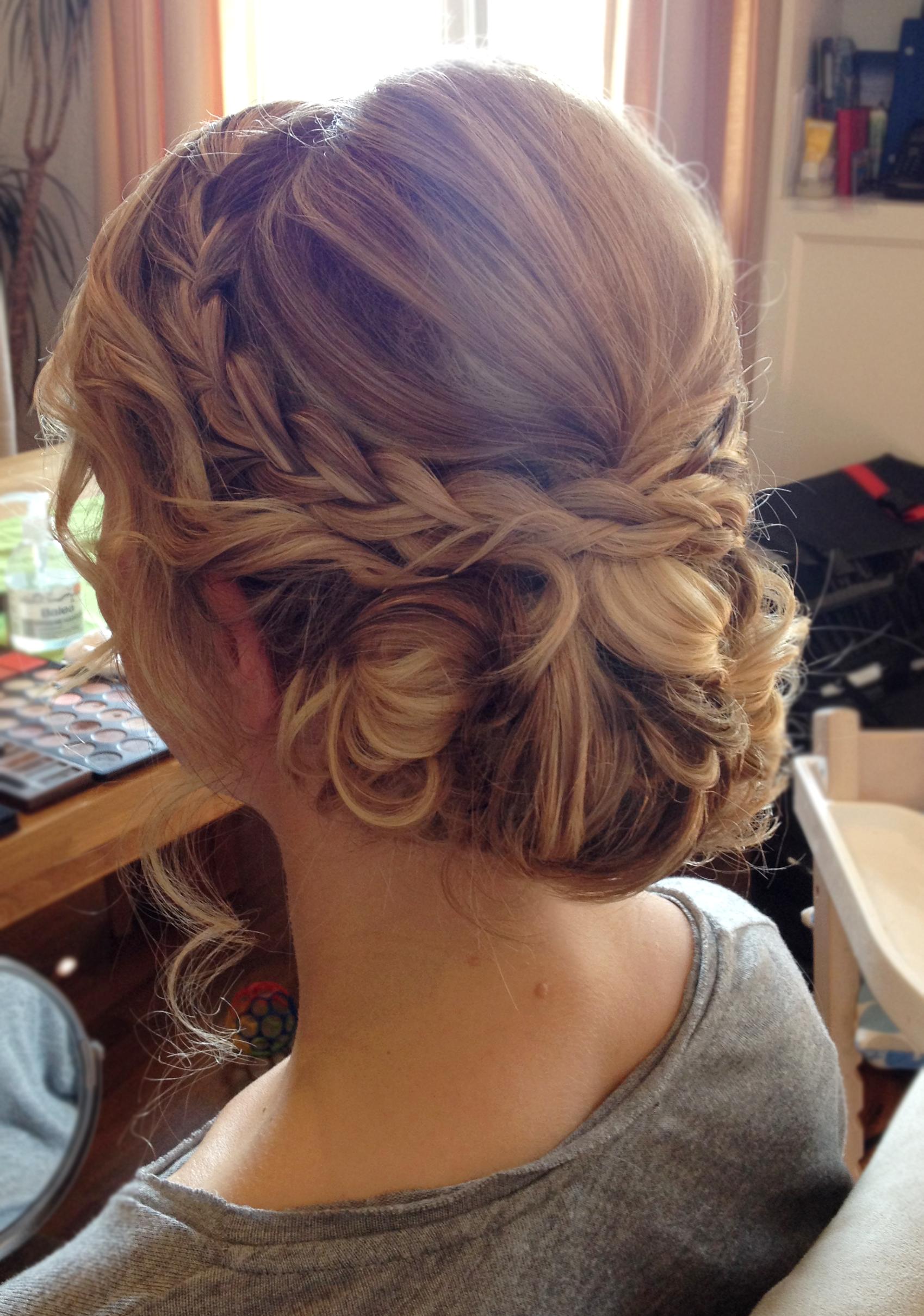 Bridal Hair By Michelle Weyand Www Michelle Weyand De Frisur Hochgesteckt Frisur Hochzeit Geflochtene Frisuren