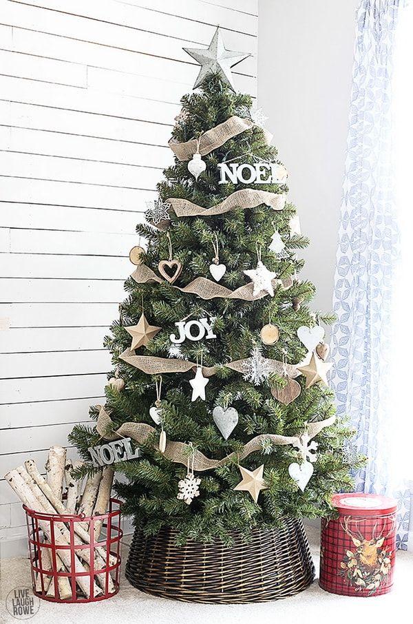 21 Arboles De Navidad En Cestas Decoracion Navidena Decoracion De Arboles Ideas Para Arboles De Navidad Arboles De Navidad Ideas