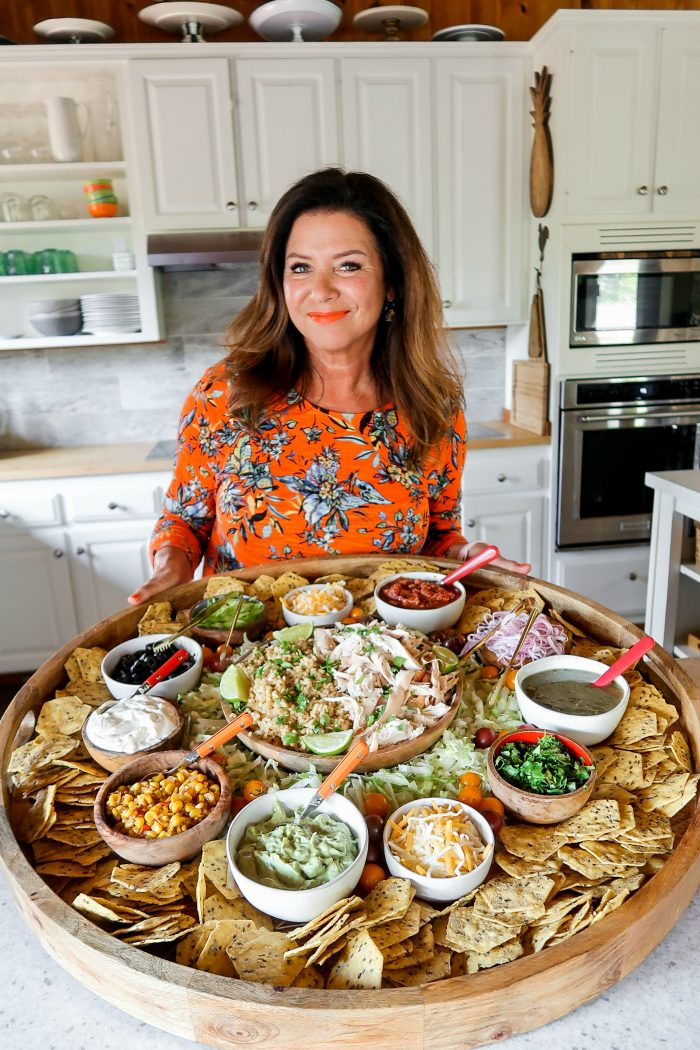 Taco Tuesday Chicken Taco Bowl Board - Reluctant Entertainer