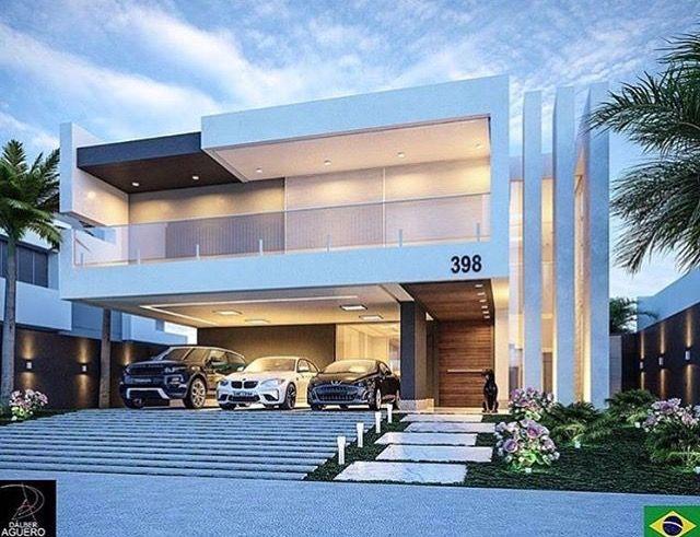 Pin de mayra lima em fachadas arquitetura casas for Fachadas de casas modernas en lima
